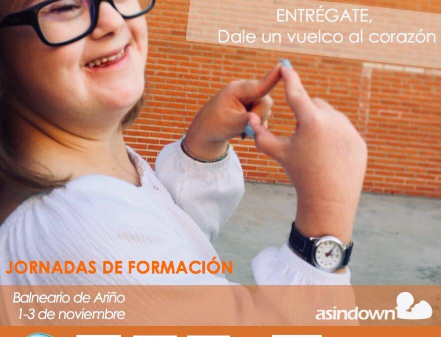 ASINDOWN organiza una jornada formativa en el Balneario de Ariño.