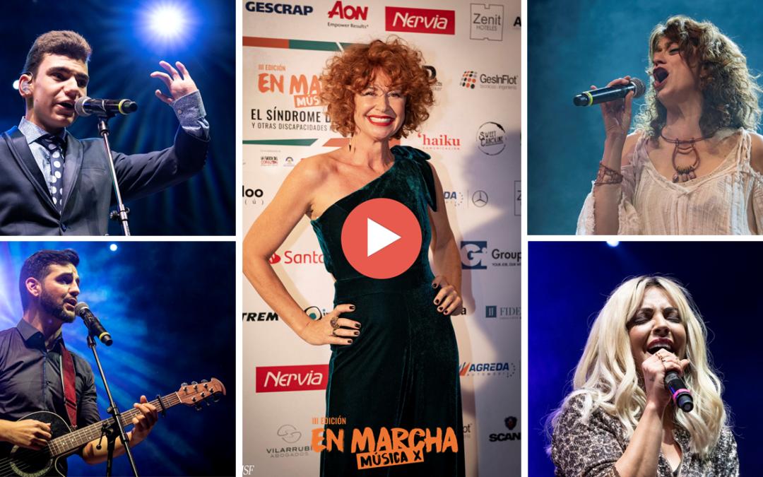 La III Edición de la Gala En Marcha Música X organizada por la Fundación Sesé, recauda 30.130€  euros para colectivos de discapacidad intelectual