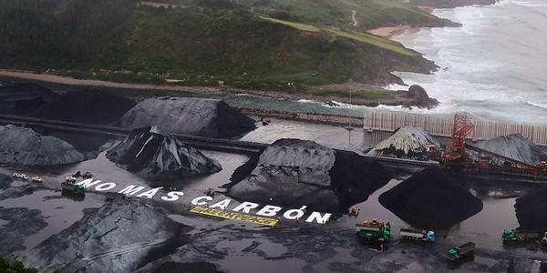 ¡No más carbón!